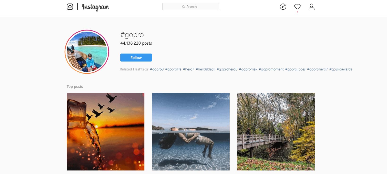 How to Promote Your Instagram Account - GoPro