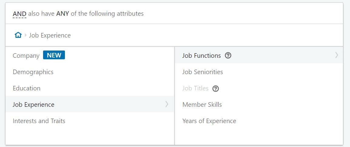 job experience
