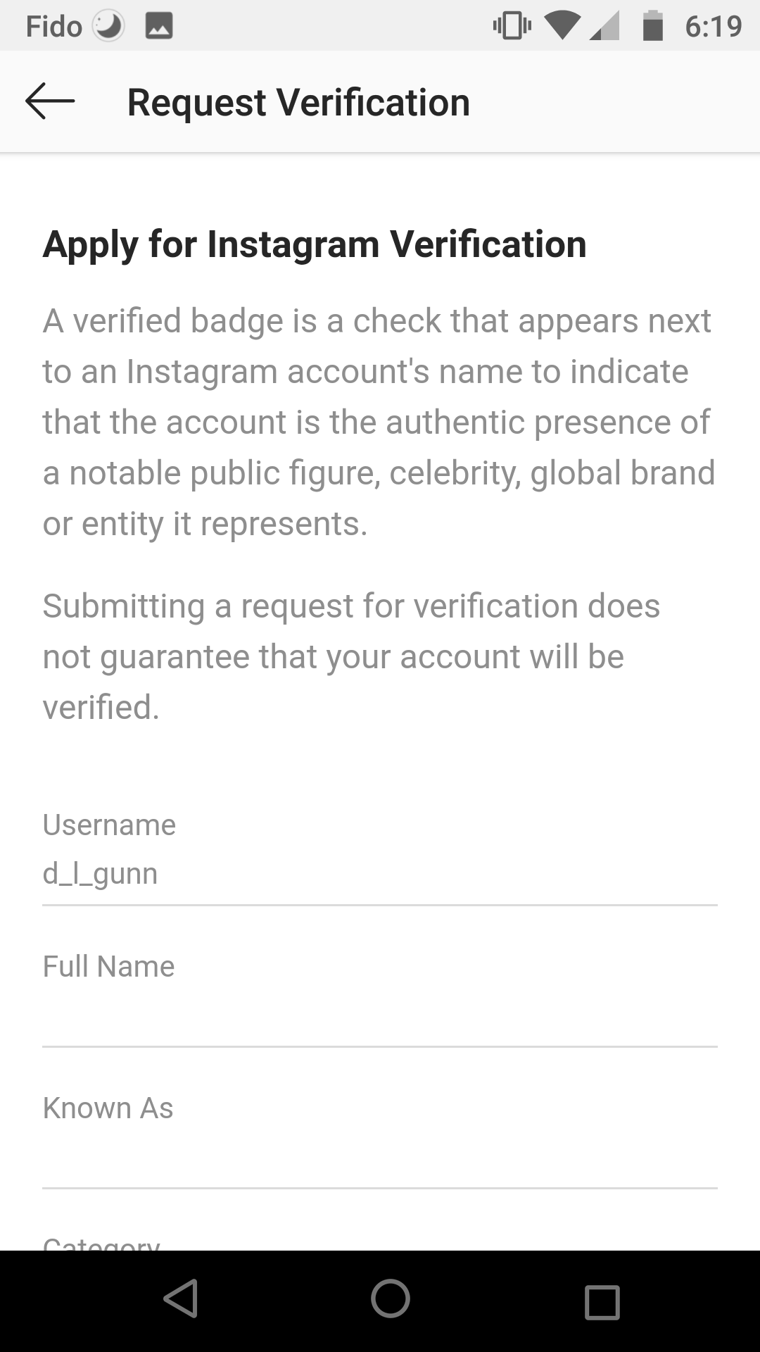 How to Get Verified on Instagram: Verification Request Form