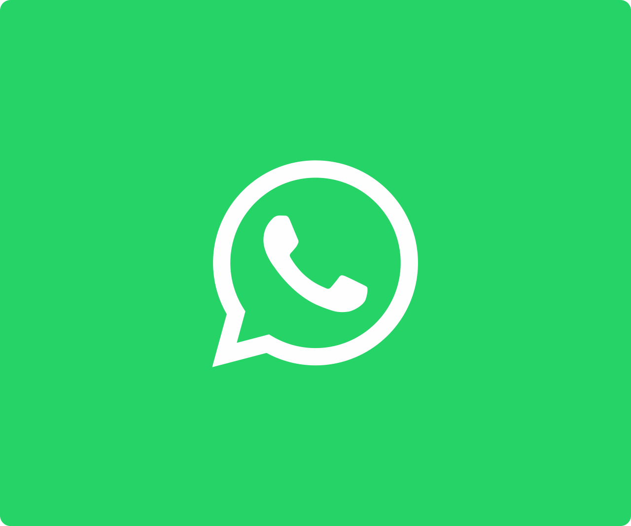 WhatsApp icon with green background