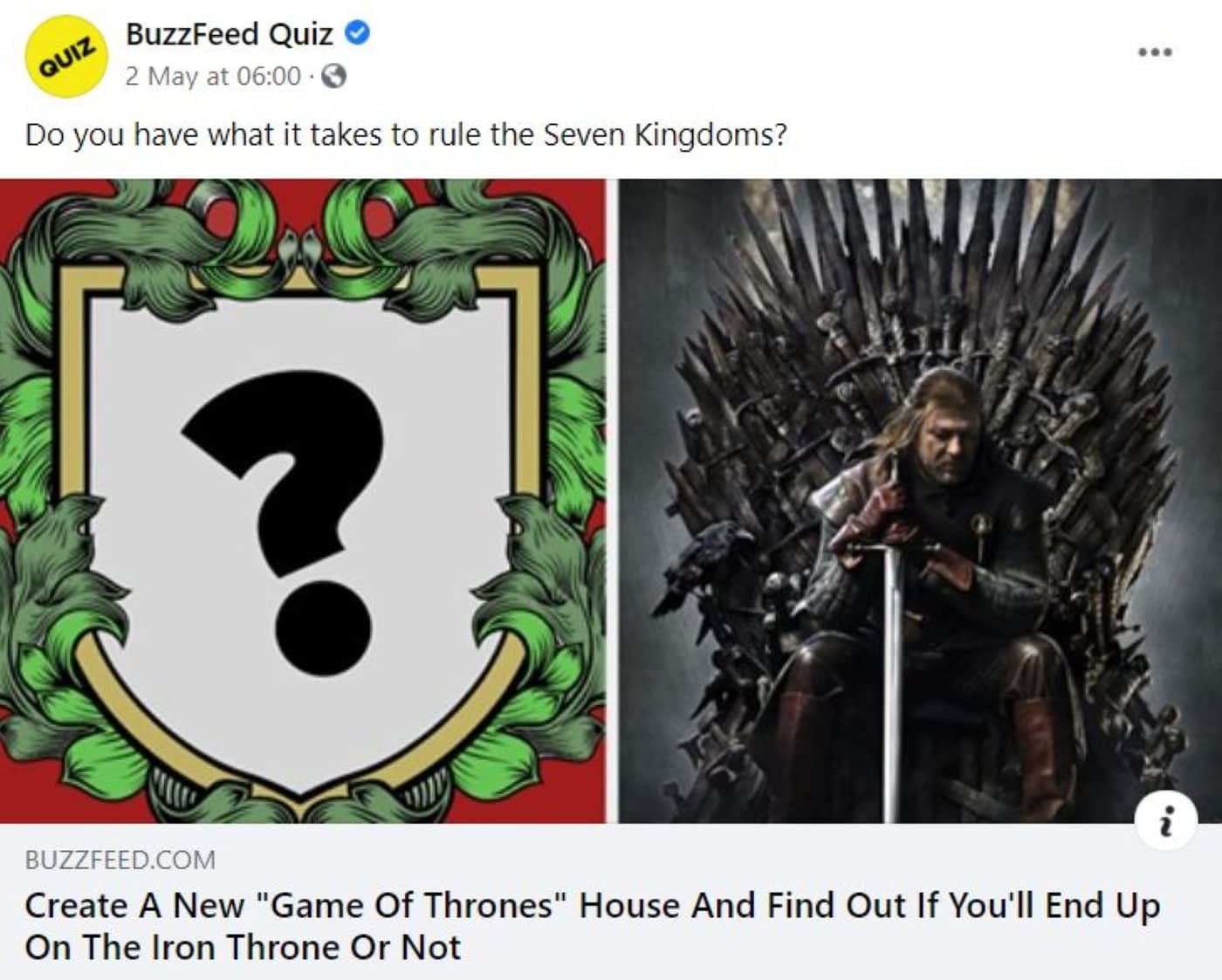 How to Use Quizzes: A Game of Thrones themes quiz