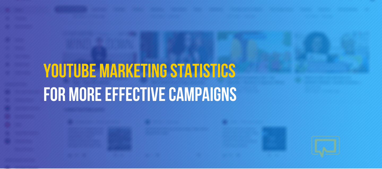 YouTube marketing statistics