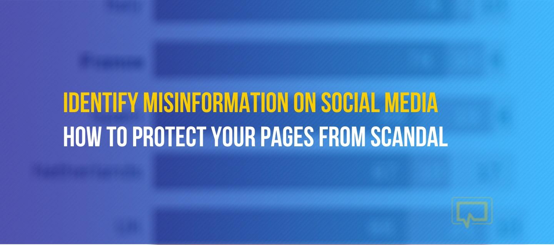 Misinformation and social media