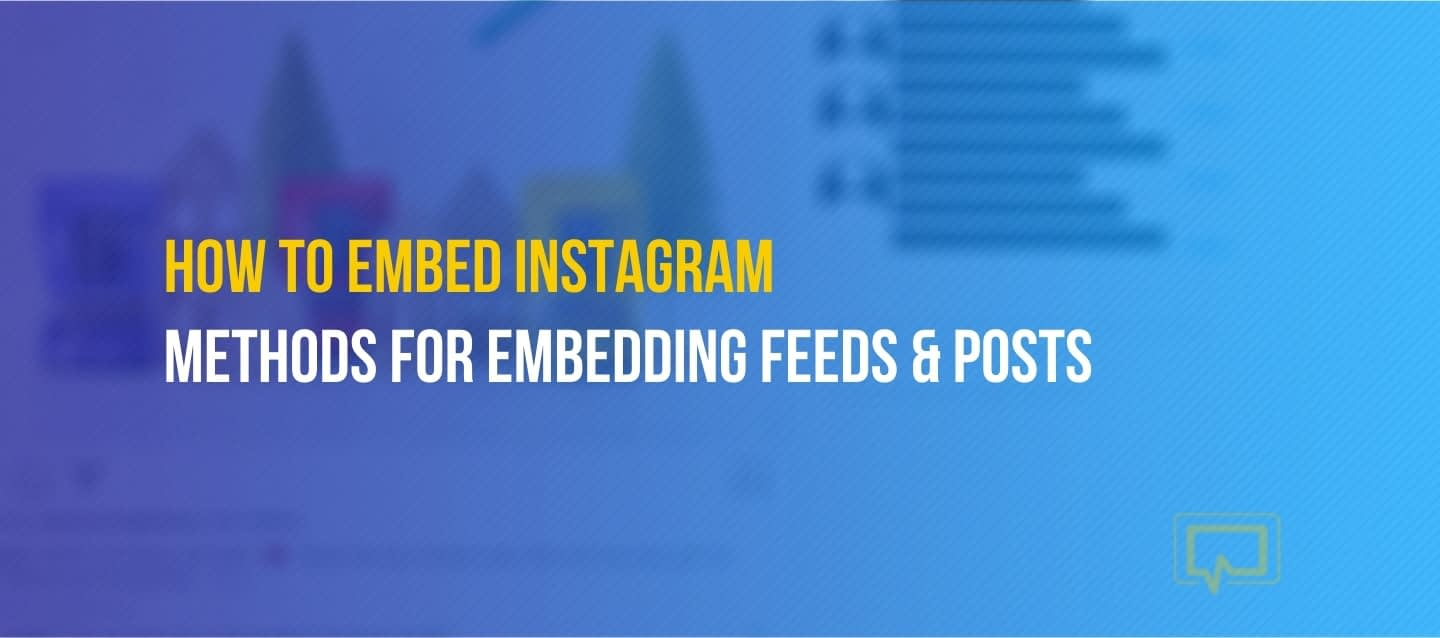 How to embed instagram posts