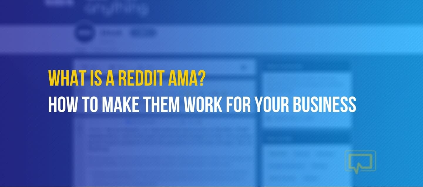 What is a Reddit AMA