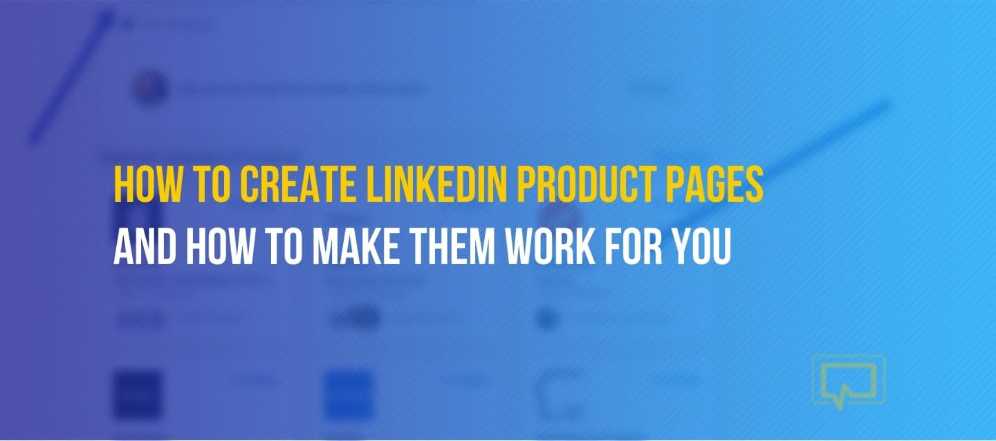LinkedIn Products Pages
