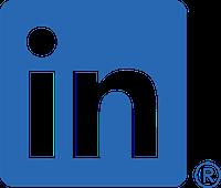 Linkedin bug social media icon