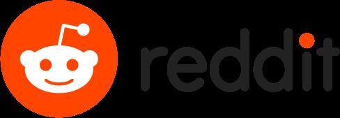 Reddit Snoo social media icon with wordmark