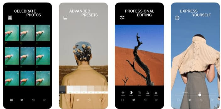 editing - best Instagram apps