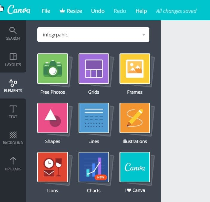 How to make infographics with Canva - Elements 2