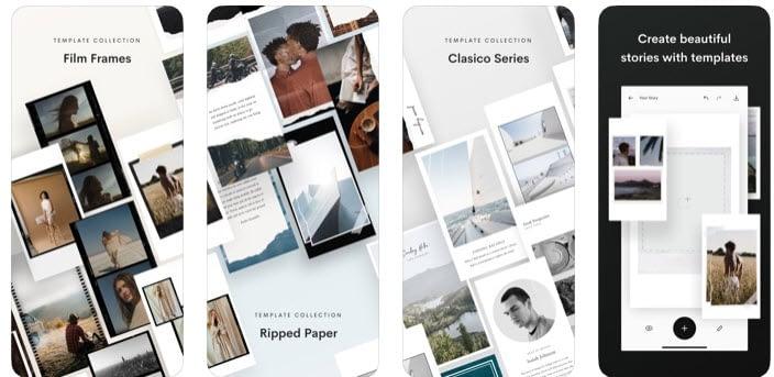 unfold - best Instagram apps