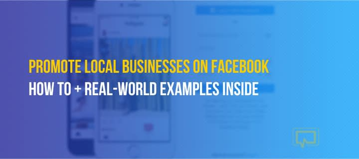 How to Promote Local Businesses on Facebook