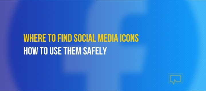 """Social Media Icons: The Only """"Approved"""" Icons by Each Social Media Site"""