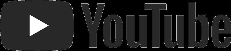 YouTube wordmark and logo in black