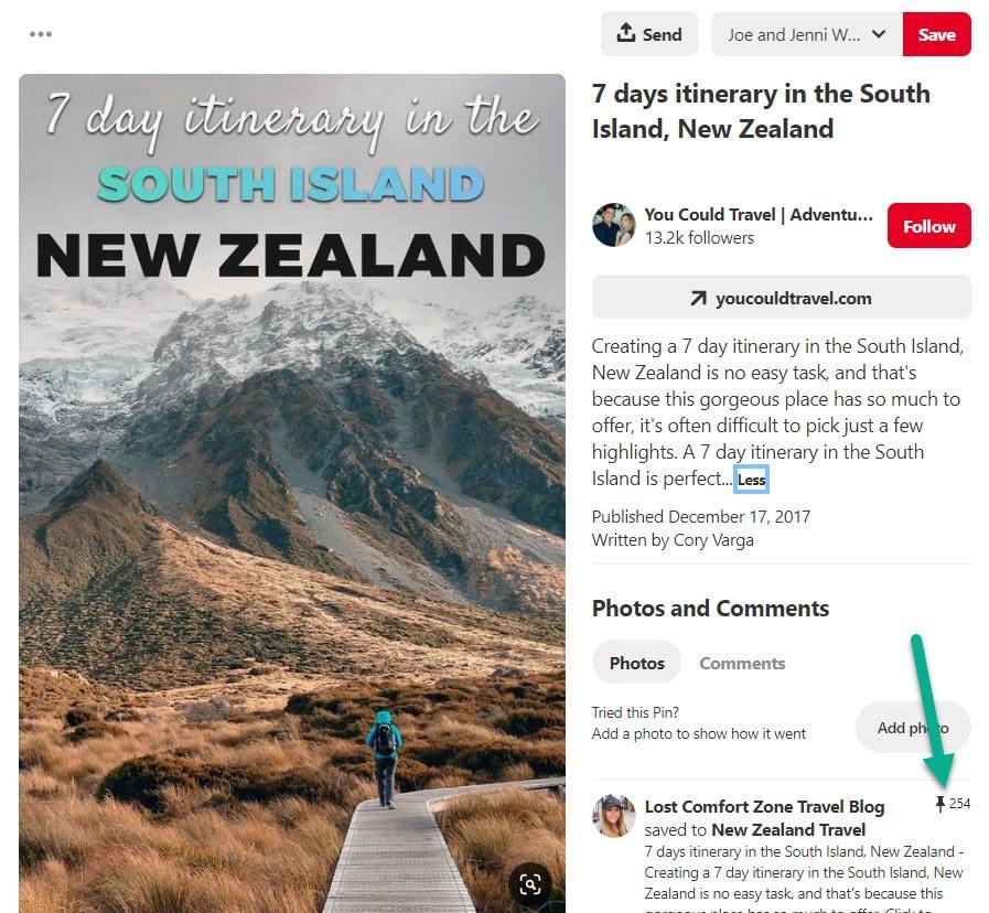 Pinterest marketing new zealand search
