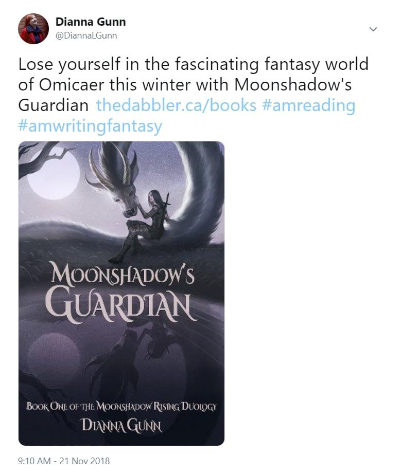 Moonshadows Tweet