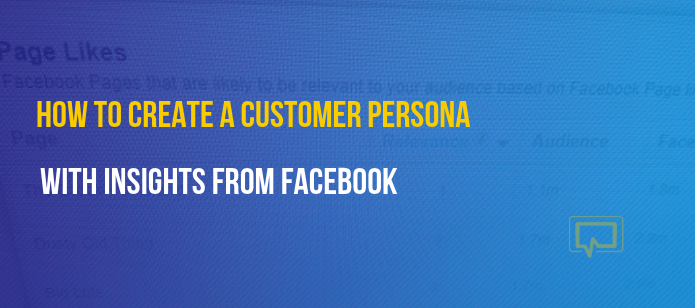 How to Use Facebook to Create a Customer Persona and Build More Effective Marketing Campaigns