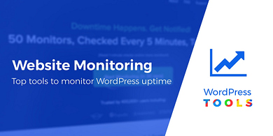5 Top Website Monitoring Services and How to Monitor WordPress Uptime Automatically
