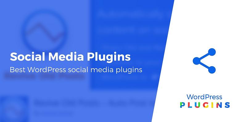 WordPress social media plugins