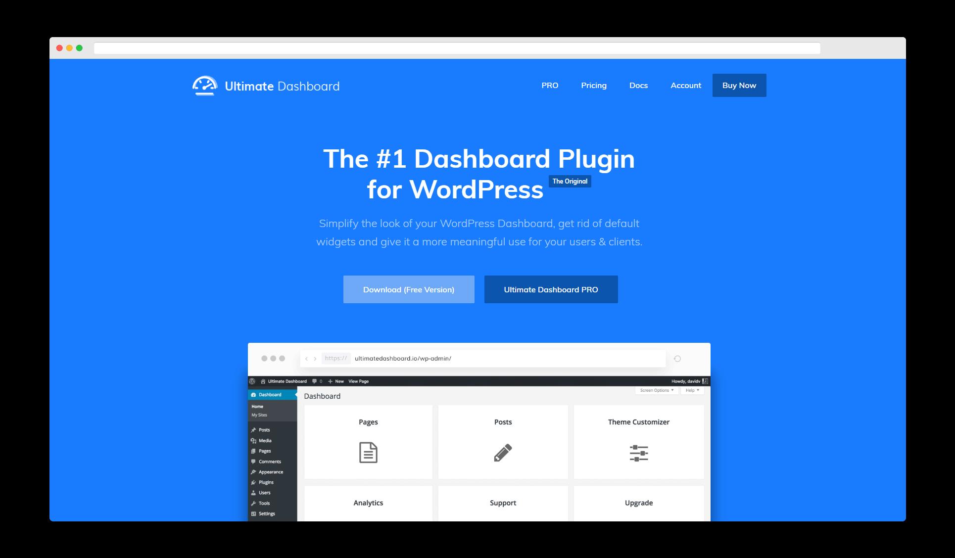 The Page Builder Framework demo.