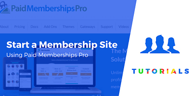 How to Start a Membership Site