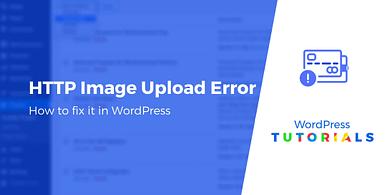 HTTP Image Upload Error