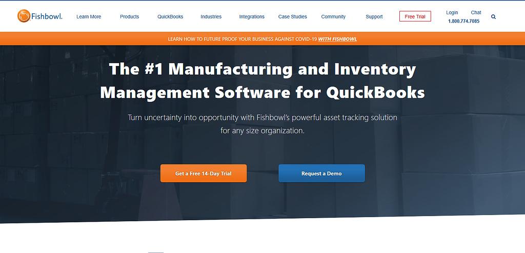 Fishbowl best inventory management software