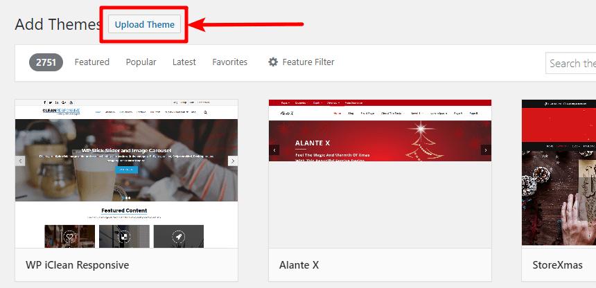 Upload a ZIP FILe