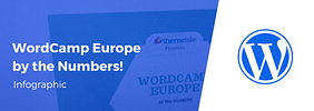 [INFOGRAPHIC] WordCamp Europe by the Numbers! All #WCEU Editions Compared (From 2013 to 2018)