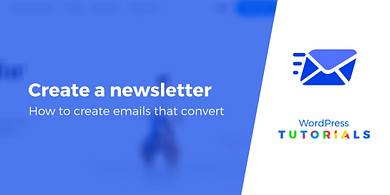 How to create email newsletters
