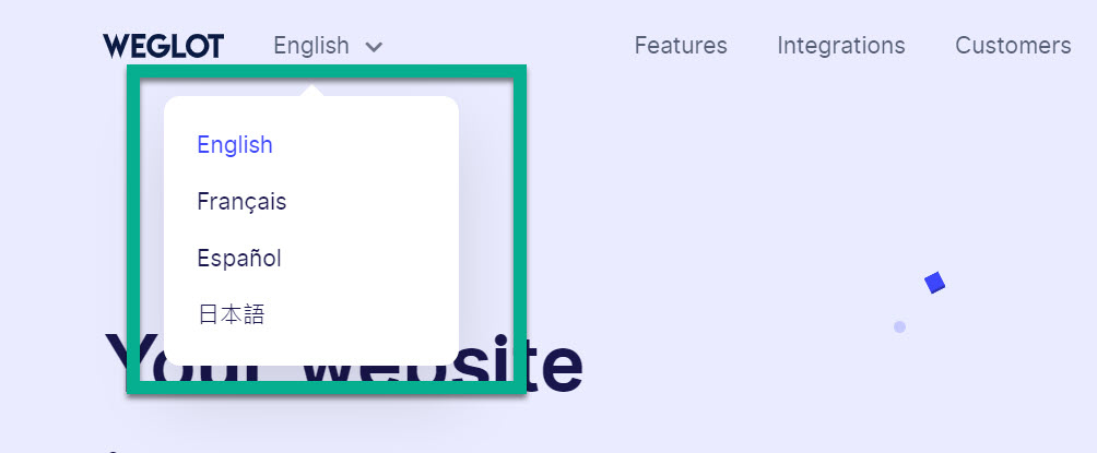 multilingual WordPress language