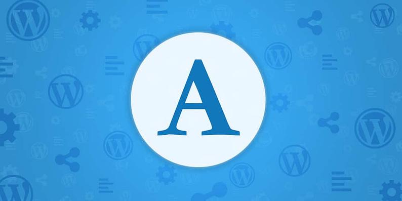WordPress Fonts That Pair Well