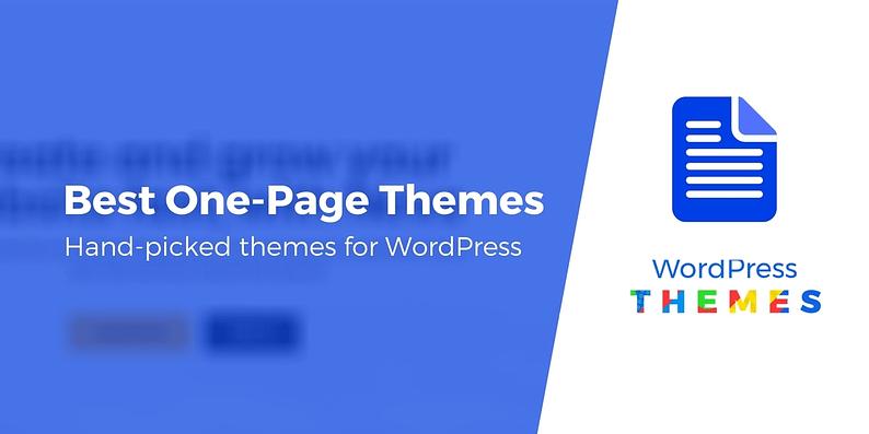 WordPress one page themes