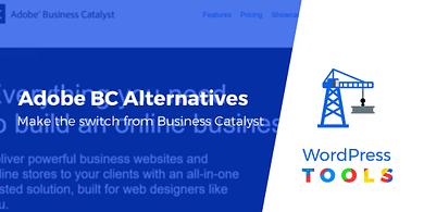 Adobe Business Catalyst alternatives