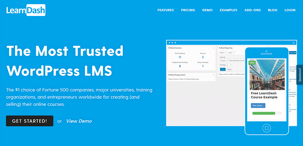 WordPress Membership Plugins: LearnDash