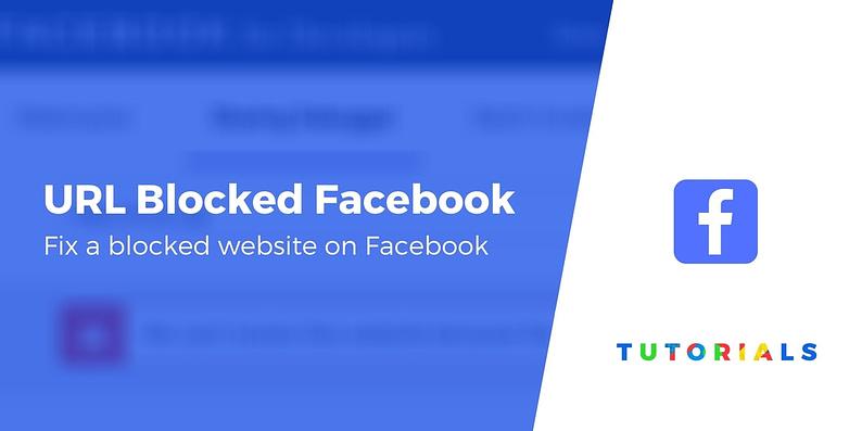 Website Blocked by Facebook
