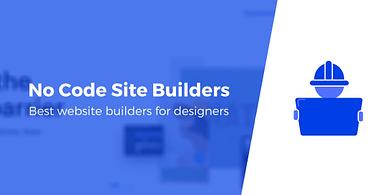 Website builders for designers