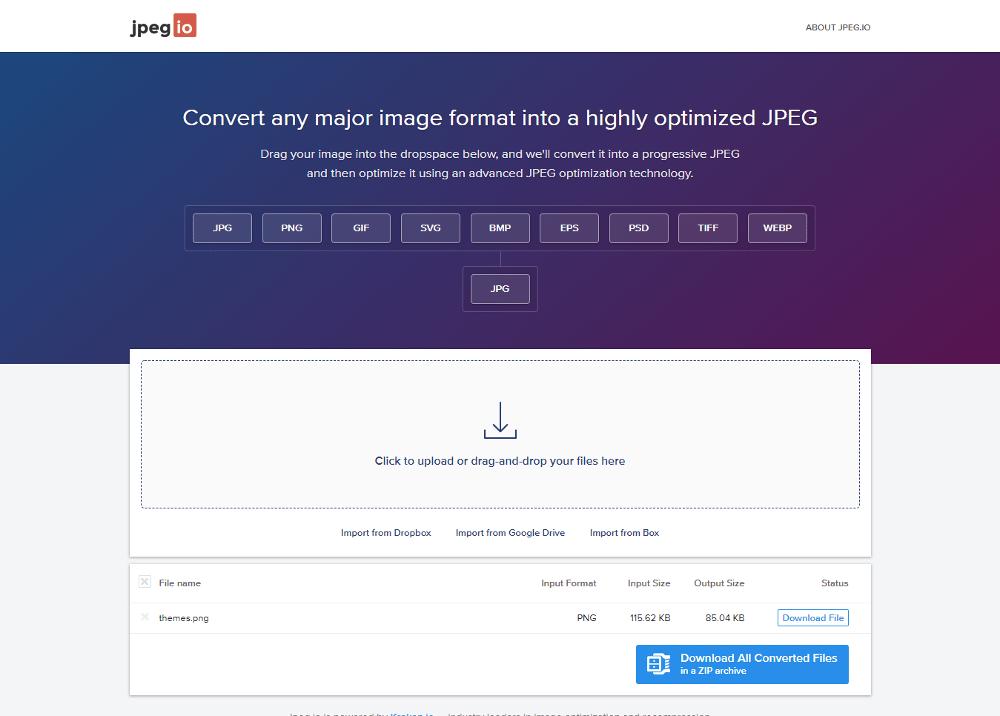 JPEG.io