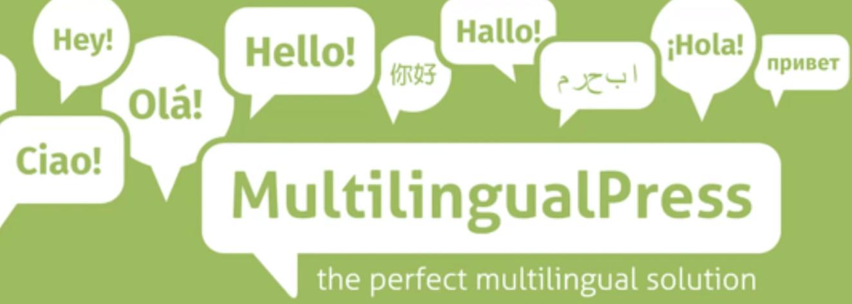 The MultilingualPress plugin.