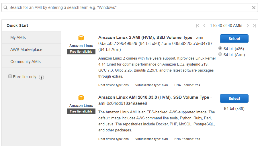 The AWS Marketplace.