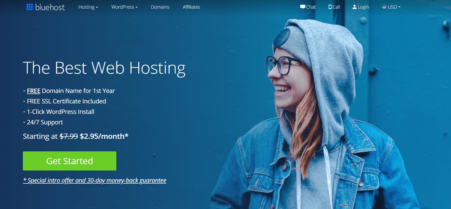WordPress and Bluehost make a great Wix alternative