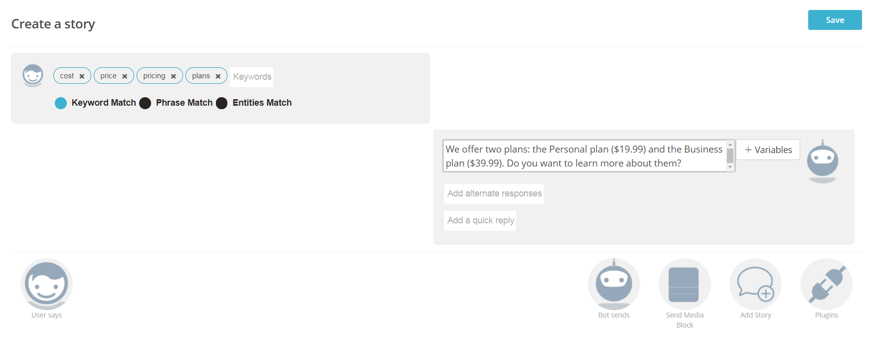 Customizing your Botsify chatbot.
