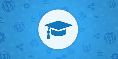 WordPress educational website