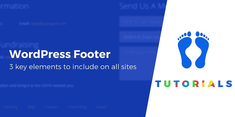 WordPress Footer