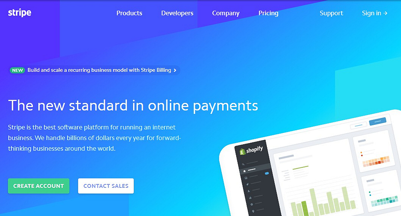 stripe is one of the best paypal alternatives for ecommerce