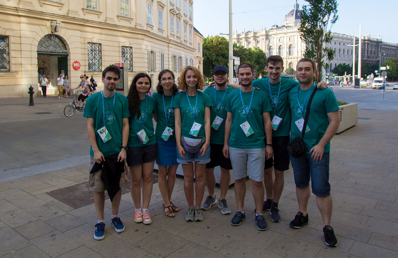 ThemeIsle at WordCamp Europe 2016 in Vienna