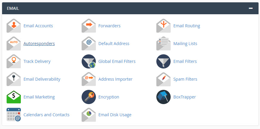 email section - what is cPanel