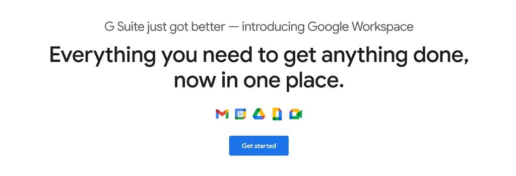 Espacio de trabajo de Google