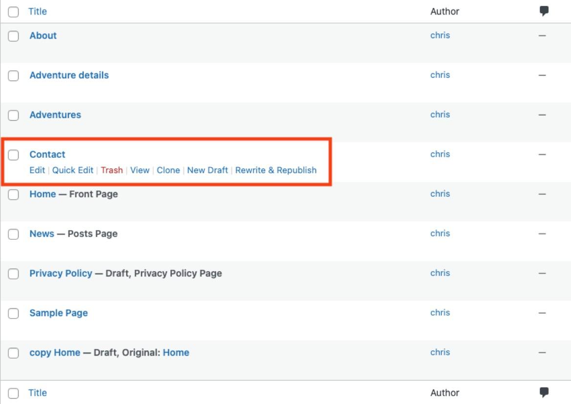 Como duplicar uma postagem do WordPress