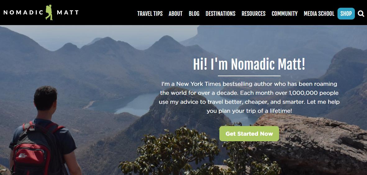 cómo iniciar un blog de viajes